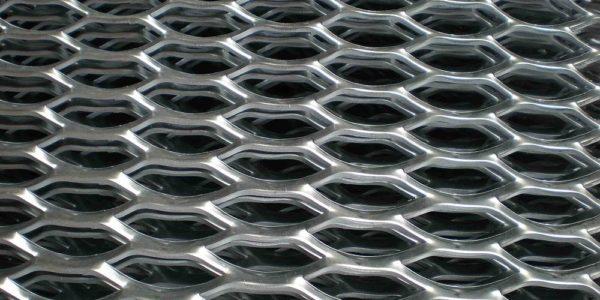 Лист просечно-вытяжной (ПВЛ) алюминиевый